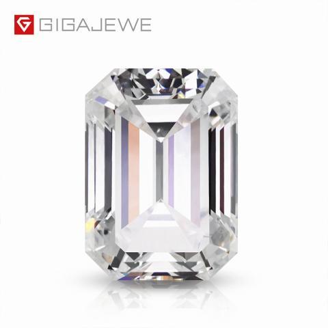 GIGAJEWE Loose Synthetic CVD Rough 3 Karat White Color Kissens chliff mit IGI Certificate Lab Grown Diamonds